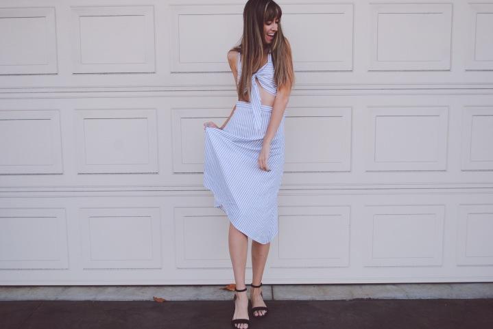 DIY: 2 piece skirt andtop
